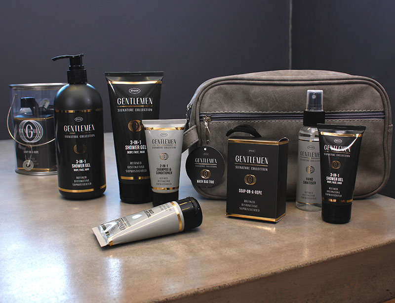 Refined. Distinctive. Sophisticated. A signature grooming collection for gentlemen.